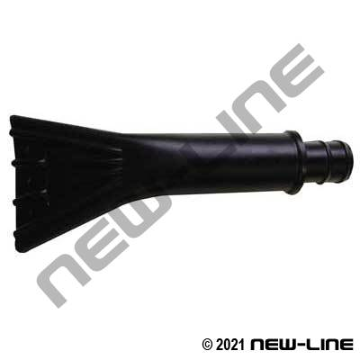 Polyethylene Claw Nozzle For Commercial Vacuum Hose