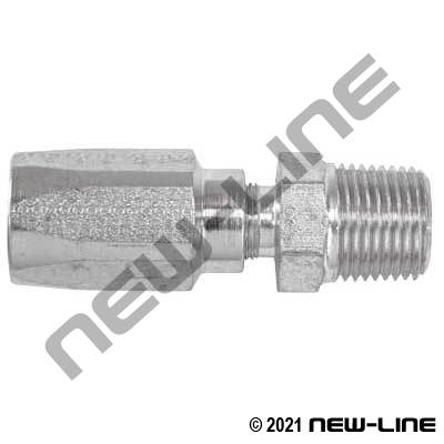 R5 Non DOT Stainless Field Attachable x Male NPT