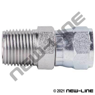Male NPT X Female JIC Straight Swivel Coupling