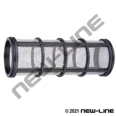Replacement Screen For Black Polypropylene Ribbed Y Strainer