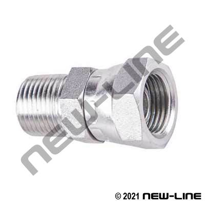 Male NPT X Female BSPP Swivel