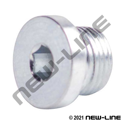 Male Metric Countersunk Plug