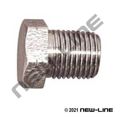 Male BSPT Hex Plug