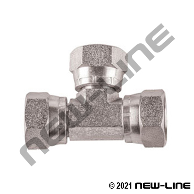 Female BSPP Swivel Tee