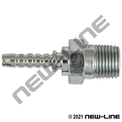 DN2 Hose x Male NPT Solid