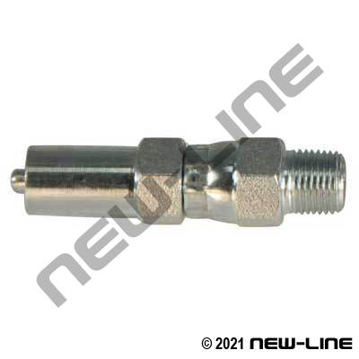 SJ Crimp x Male NPT Live Swivel