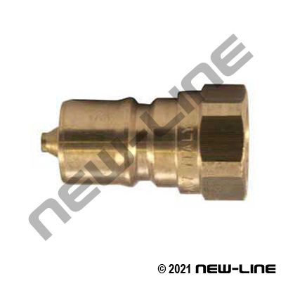 Brass Hydraulic 7241-1B Nipple X Female NPT