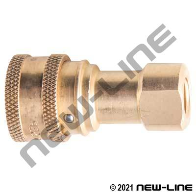 Brass Sleeve Lock 7241-1B Coupler X Female NPT