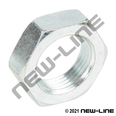 Steel ORFS Bulkhead Nut
