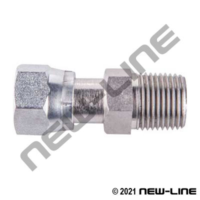 Female ORFS x Male NPT Straight Adapter