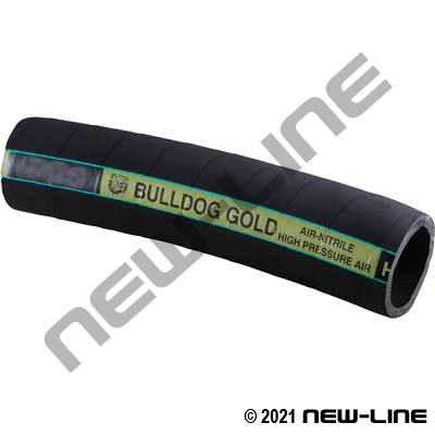 Black Boston Bulldog Gold Air Hose