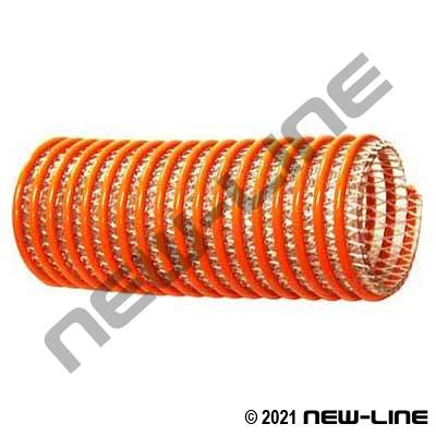 Corrugated Clear Braided PVC Transfer Hose