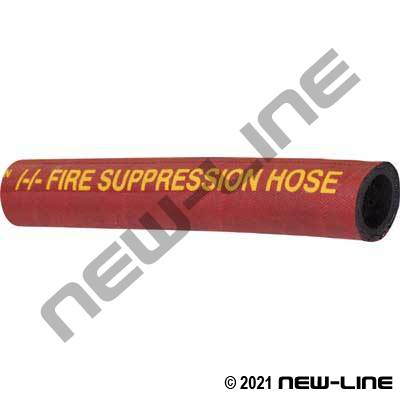 Red SAE100R1AT Fire Suppression Hose