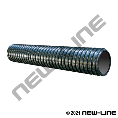 Black Corrugated PVC Pond-Flex Transfer Hose