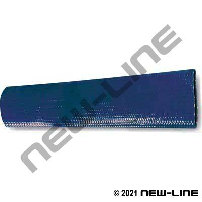 Blue PVC Layflat Water Discharge Hose