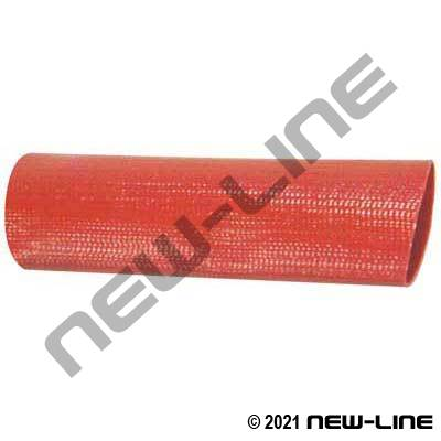 Brick Red/Brown PVC Layflat Water Discharge Hose