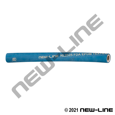 Blue Textile EPDM FDA Steam 105 PSI (338°F)