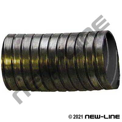 Galvanized Unlined Interlock Metal Dry Exhaust Hose (.018)