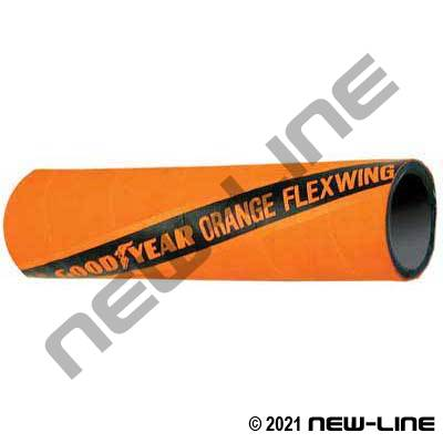 Orange ContiTech / Goodyear Flexwing Hose