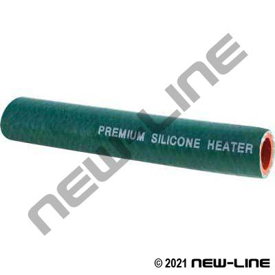 Green Heavy Wall Silicone Heater Hose