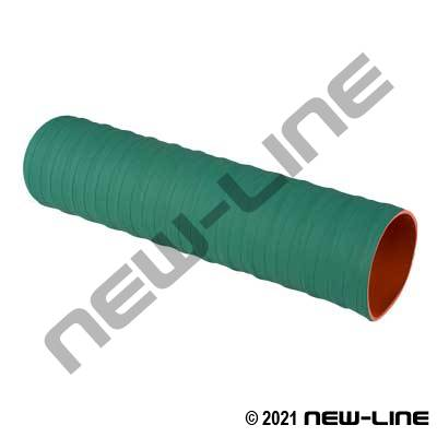 Wire Reinforced Green Silicone Coolant Hose