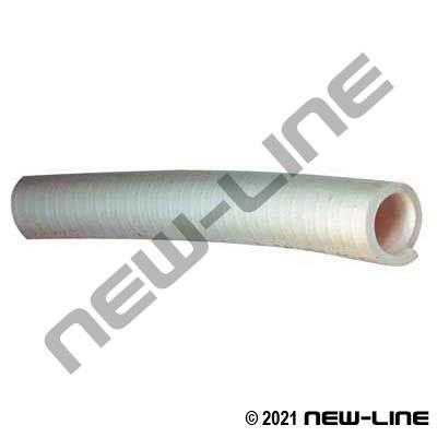 White Smooth PVC Marine Sanitary Hose