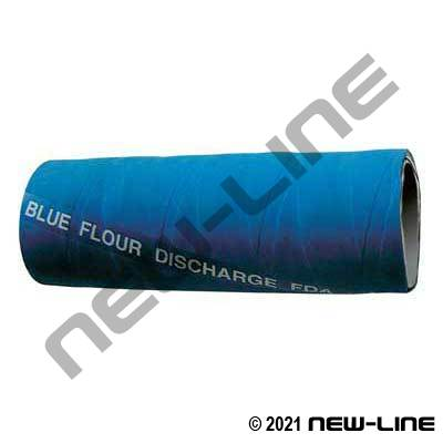 Blue ContiTech Flour Softwall Discharge Hose