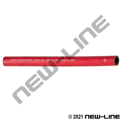 Red Rubber Push-On Hose