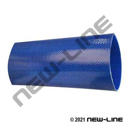 Blue TPU Layflat NSF Potable Water Discharge Hose