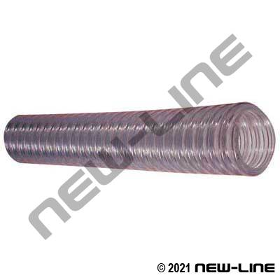Clear Copper Wire Tigerflex Type WE PVC Transfer Hose
