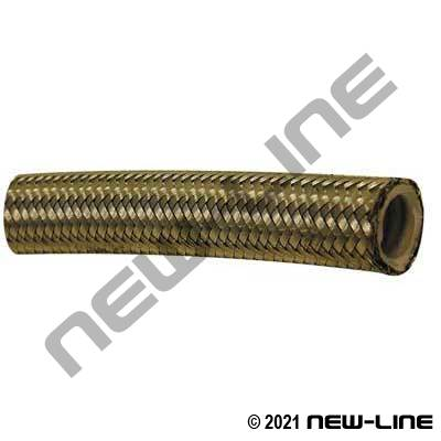 PTFE Convoluted PTFE Lined Stainless Braided Hose