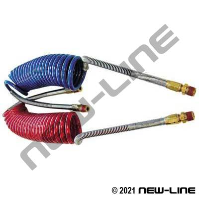 Heavy Duty Retractable Coiled DOT Airbrake