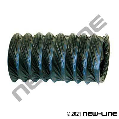 Black Light Duty Air Vent & Blower Hose