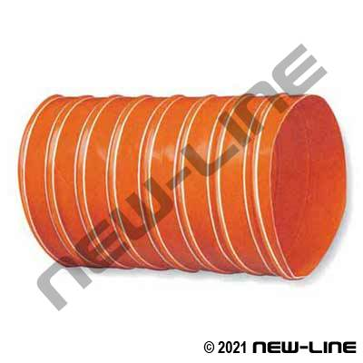 Burnt Orange Silicone Duct 600