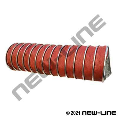 Orange 3 Ply Extreme High Temp Ducting