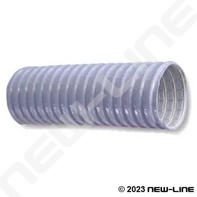 Grey Reinforced Pvc Vacuum Hose