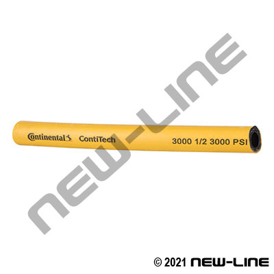 Yellow ContiTech Gauntlet 3000 PSI Pressure Washer Hose