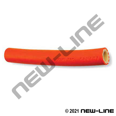 Orange A4152 Nylon Paint & Solvent Fluid Hose - 250 PSI