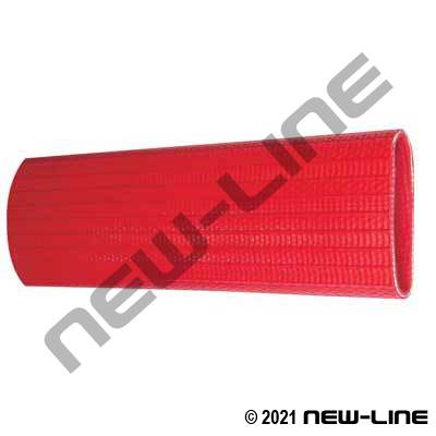 Red Ribbed Rubber FM & UL Approved Armtex Fire Hose