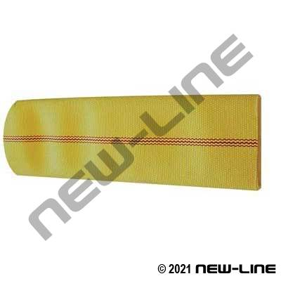 Yellow Double Jacket Snow Blowing Hose