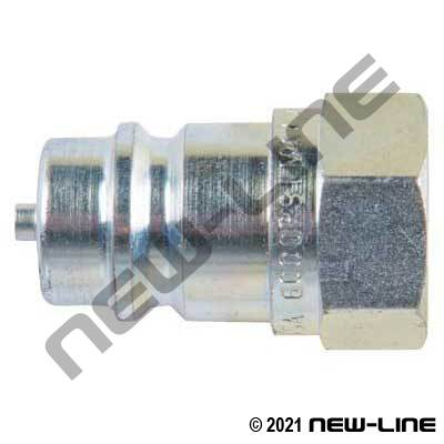 SH Series 6000 PSI Nipple with Poppet NPT