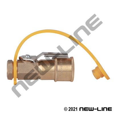 Male NPT RV LPG/Nat Gas Coupler