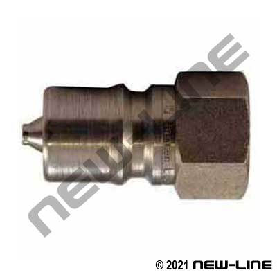 Stainless Hydraulic 7241-1B Nipple X Female NPT