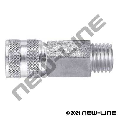 Test Gauge Adapter Female M16x2 x Male NPT