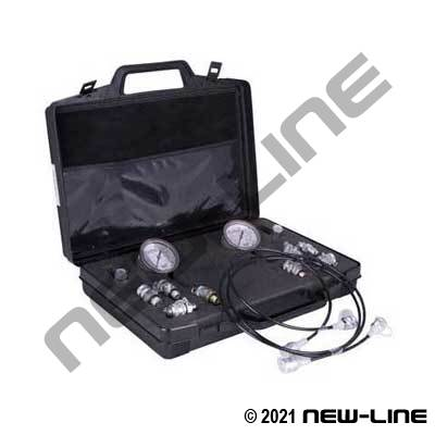 Pressure Gauge & Test Port Kit