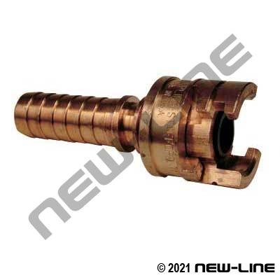 National A Hose End - Brass