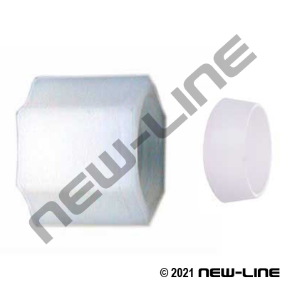 Tube Nylon Compression Nut Assy (For Soft Plastic Tubing)