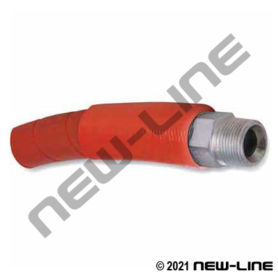 BOP Hose Assemblies With Fire Sleeve x Male NPT