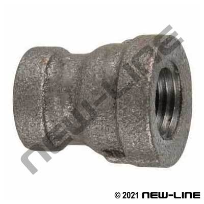 Black Malleable Iron Reducer Coupling