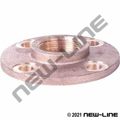 Brass Floor Cover Mounting Flange